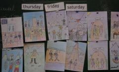 dessins des enfants de la classe de CE2